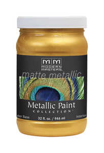 Modern Masters  Pale Gold  Protective Enamel  32 oz.