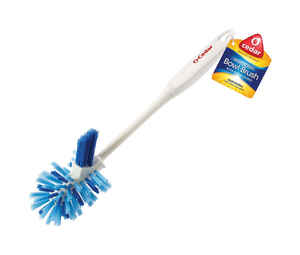 O-Cedar  5.4 in. W Plastic  Bowl Brush