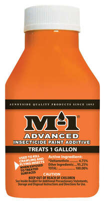 M-1  Advanced  Indoor and Outdoor  Insecticide Paint Additive  1.68 oz.