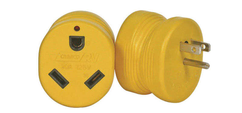 Camco  RV Electrical Adapter 15-30A  1 pk