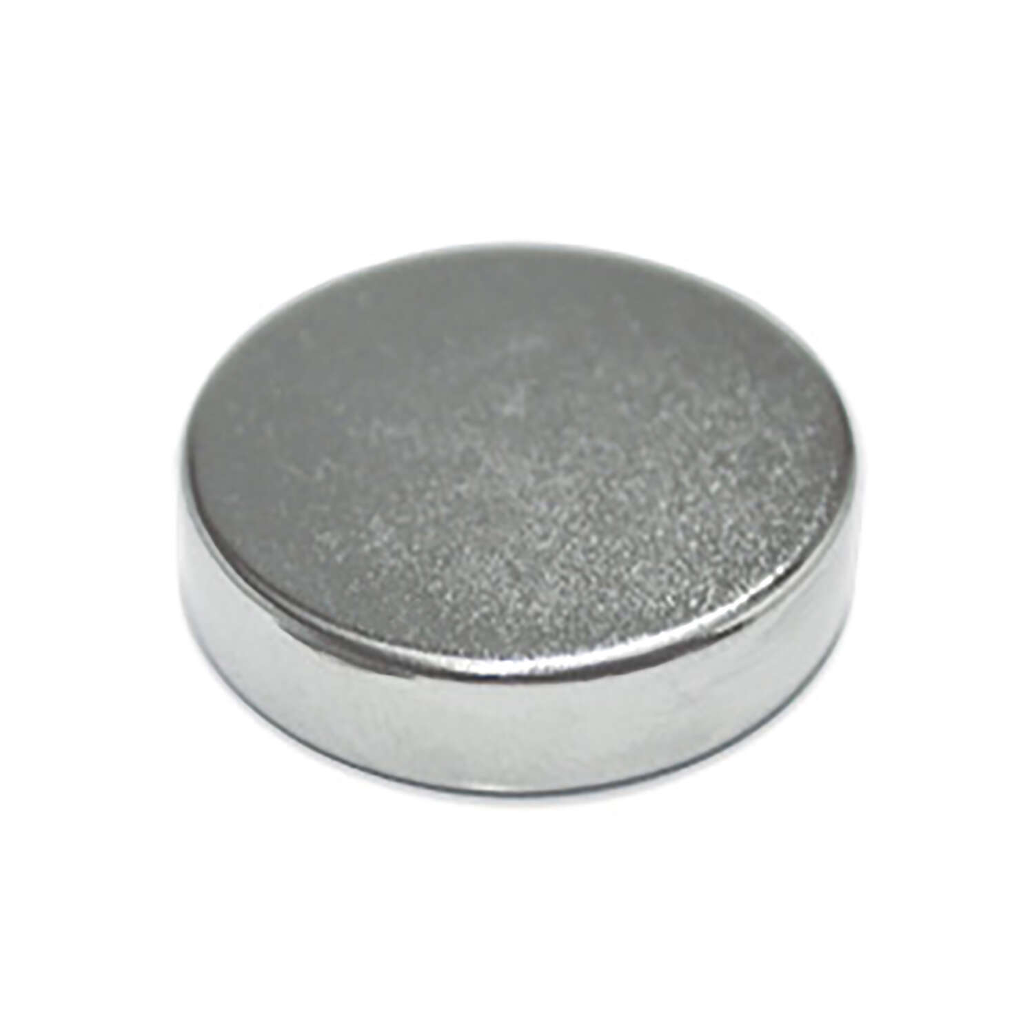 Master Magnetics .118 in. Neodymium Super Disc Magnets 6.5 lb. pull 35 MGOe Silver 3 pc.