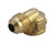 JMF  1/2 in. Flare   x 3/8 in. Dia. FPT  Brass  90 Degree Elbow
