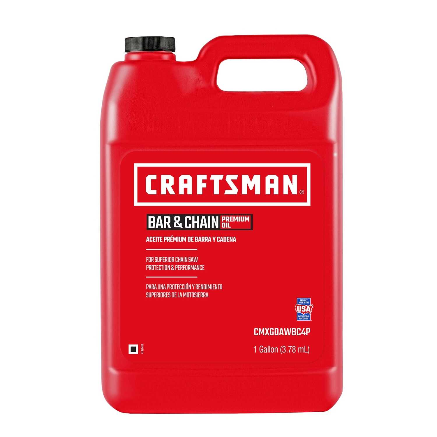 Craftsman  General Purpose  Bar and Chain Oil  1 gal.