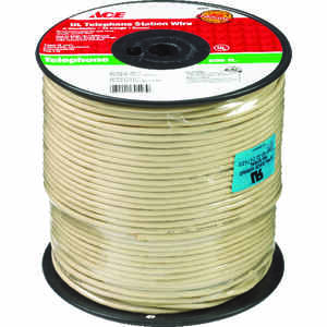 Ace  500 ft. L Ivory  Telephone Station Wire