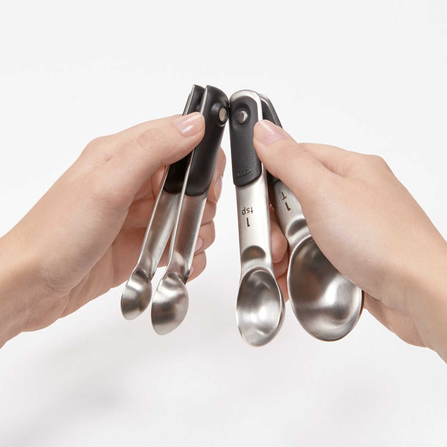 OXO  Good Grips  Stainless Steel  Silver  Measuring Spoon