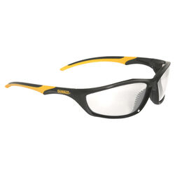 DeWalt Router Anti-Fog Safety Glasses Clear Lens Black/Yellow Frame 1 pc.