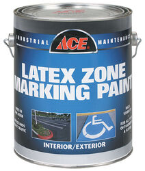 Ace  Red  Traffic Zone Marking Paint  1 gal.