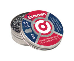 Crosman Airgun Pointed Pellets 0.177 Caliber 7.4 Grain 250 pk