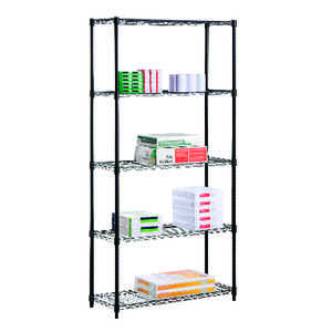 Honey Can Do  16 in. W x 72 in. H x 36 in. D Steel  Shelving Unit
