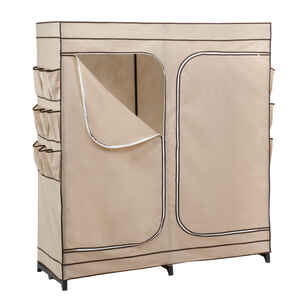 Honey Can Do  63 in. H x 19-11/16 in. W x 60 in. L Polyester  Wardrobe Organizer  1 pk