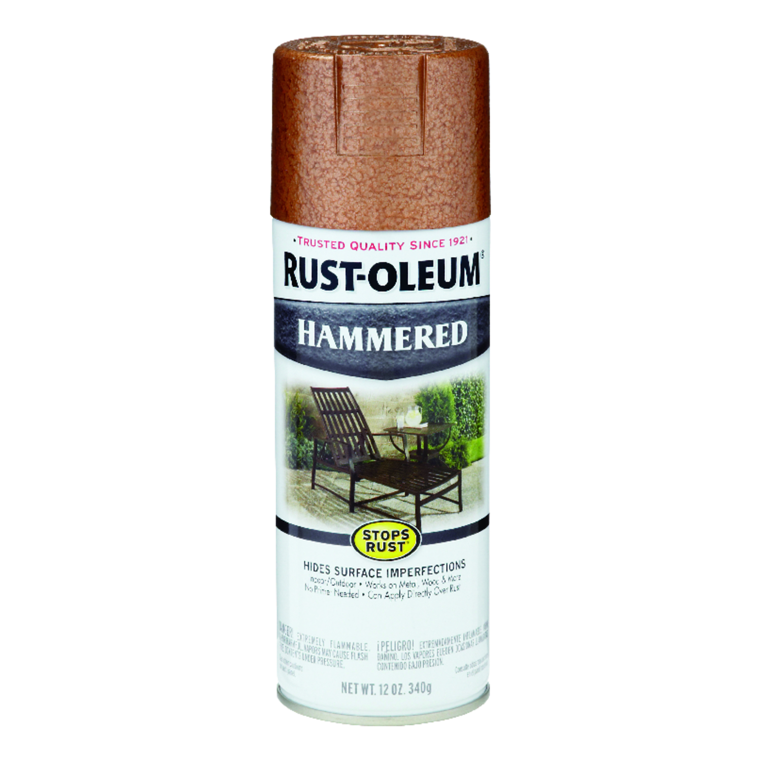 Rust-Oleum  Stops Rust  Spray Paint  12 oz. Copper