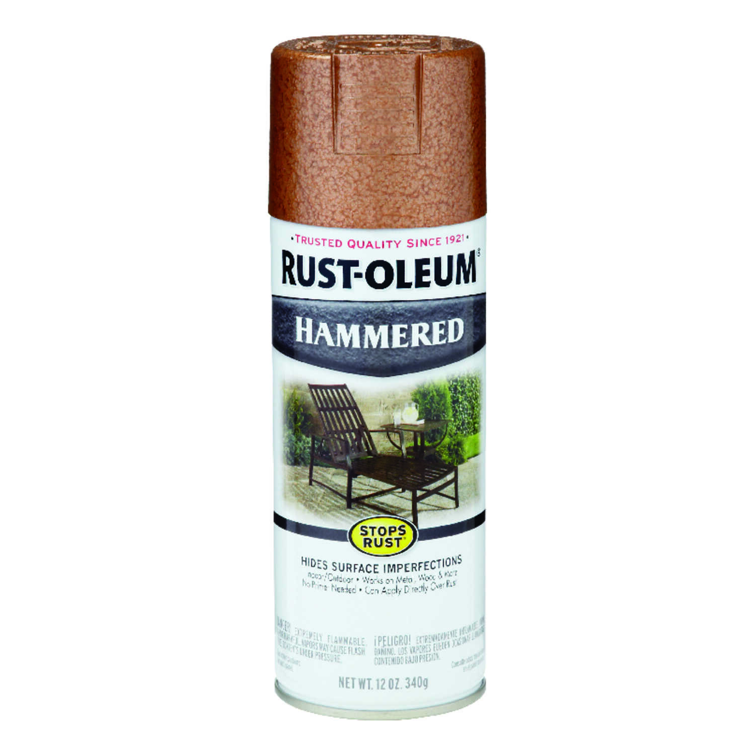 Rust-Oleum  Stops Rust  Copper  Spray Paint  12 oz.