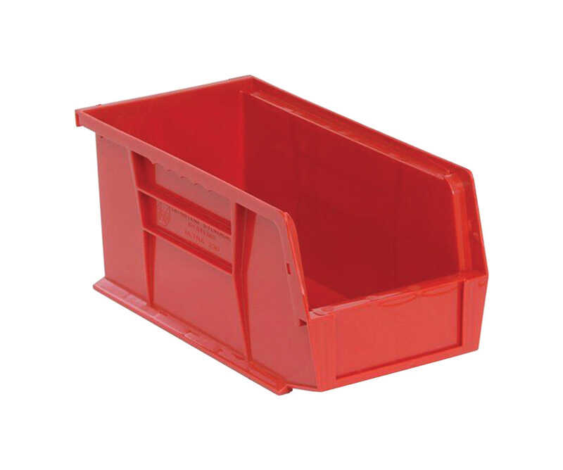 Quantum Storage  10-7/8 in. L x 5-1/2 in. W x 5 in. H Tool Storage Bin  Polypropylene  1 compartment