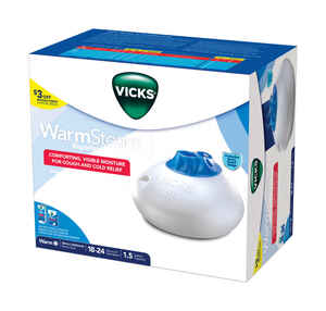 Vicks Vaporizer  3 gal. 12 sq. ft. Humidifier  Automatic
