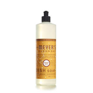 Mrs. Meyer's  Clean Day  Orange Clove Scent Liquid  Dish Soap  16 oz. 1 pk
