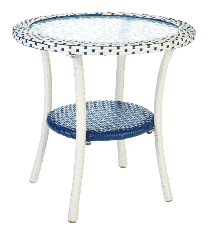 Living Accents  Blue  Cavalia  Bistro Table