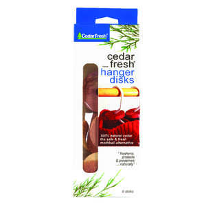 Household Essentials  Natural Cedar Scent Odor Eliminator  6 pk Wood