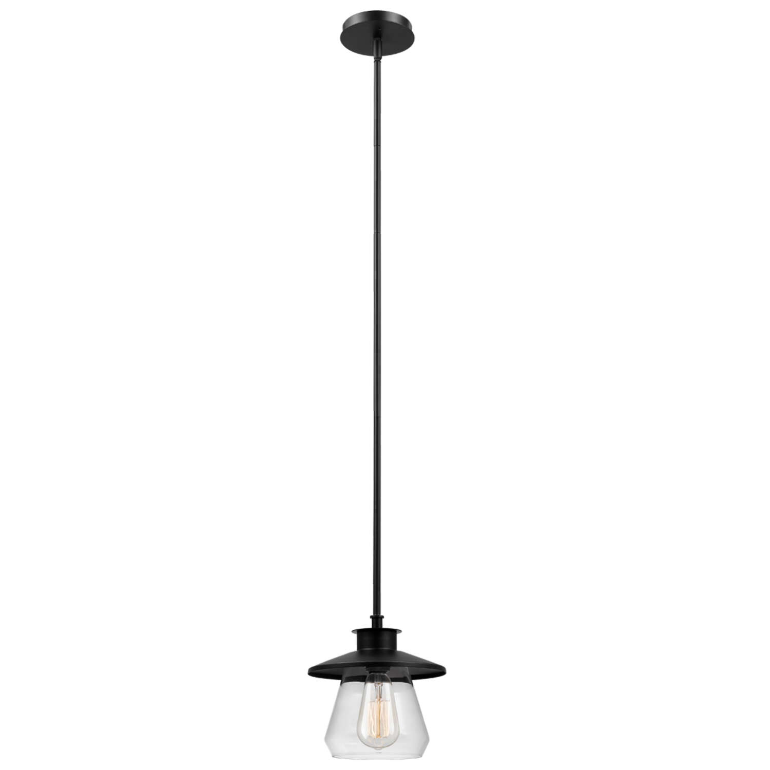 Globe Electric  Oil Rubbed Bronze  Brown  1 lights Pendant Light