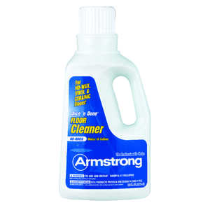 Armstrong  Once'N Done  Citrus Scent Floor Cleaner  32 oz. Liquid