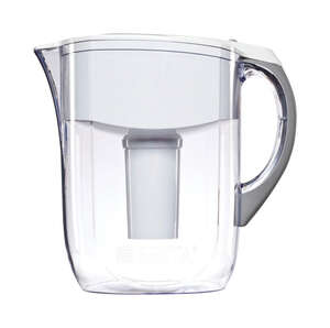 Brita  White  10 cups Grand  White  Water Filtration Pitcher