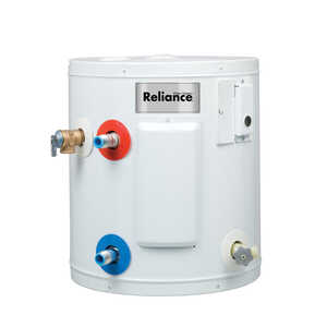 Reliance  Electric  Water Heater  18-1/4 in. H x 16 in. L x 16 in. W 10 gal.