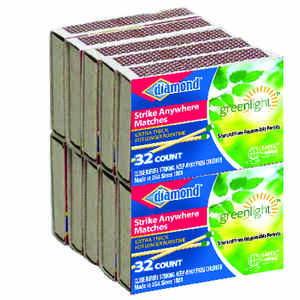 Diamond  2.9 in. L Strike Anywhere Matches  32 pc.