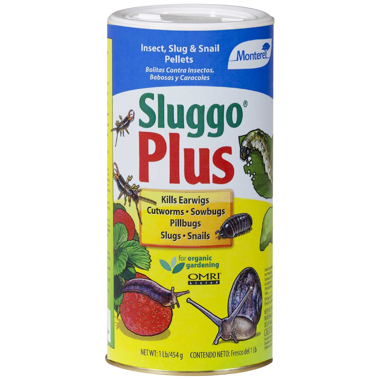 Sluggo Plus  0  Slug and Snail Killer  1 lb.