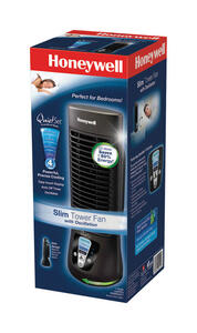 Honeywell  QuietSet  4 speed Electric  Oscillating Tower Fan