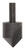 Vermont American 3/4 in. Dia. Tool Steel Countersink 1 pc.