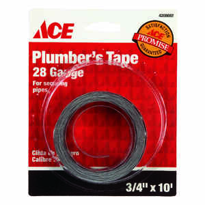 Ace  Galvanized  Plumbers Tape  1 each