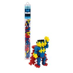 Plus-Plus Superhero Building Toy Plastic Multicolored 70 pc.