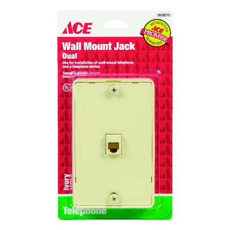 Ace 1-Jack Phone Jack Surface-Mount - Ace Hardware