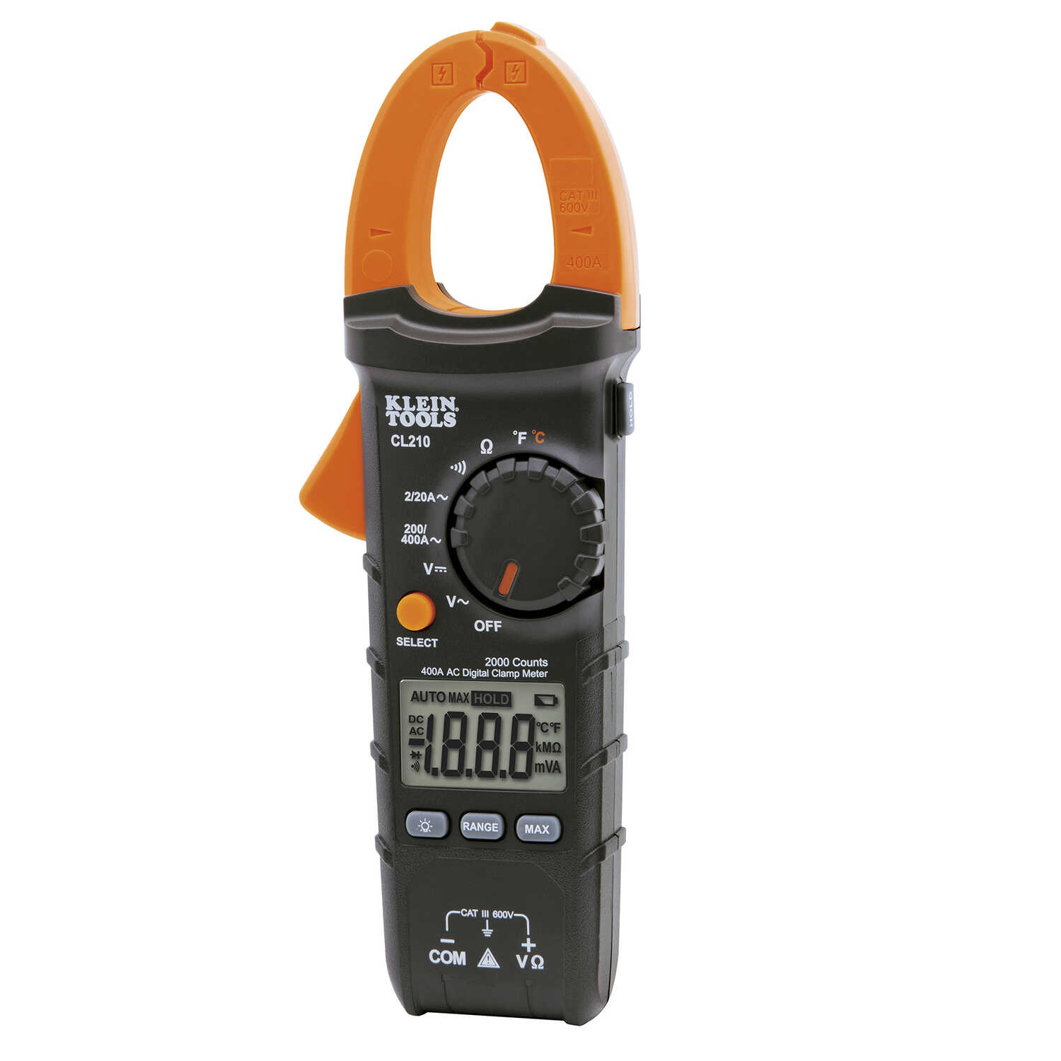 Klein Tools  -40 - 1832F  Digital  Multimeter