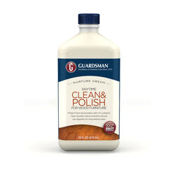 Guardsman  Anytime Clean & Polish  Woodland Fresh Scent Furniture Cream  16 oz. Cream