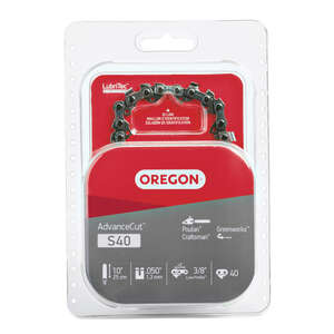 Oregon  10 in. L 40 links Chainsaw Chain