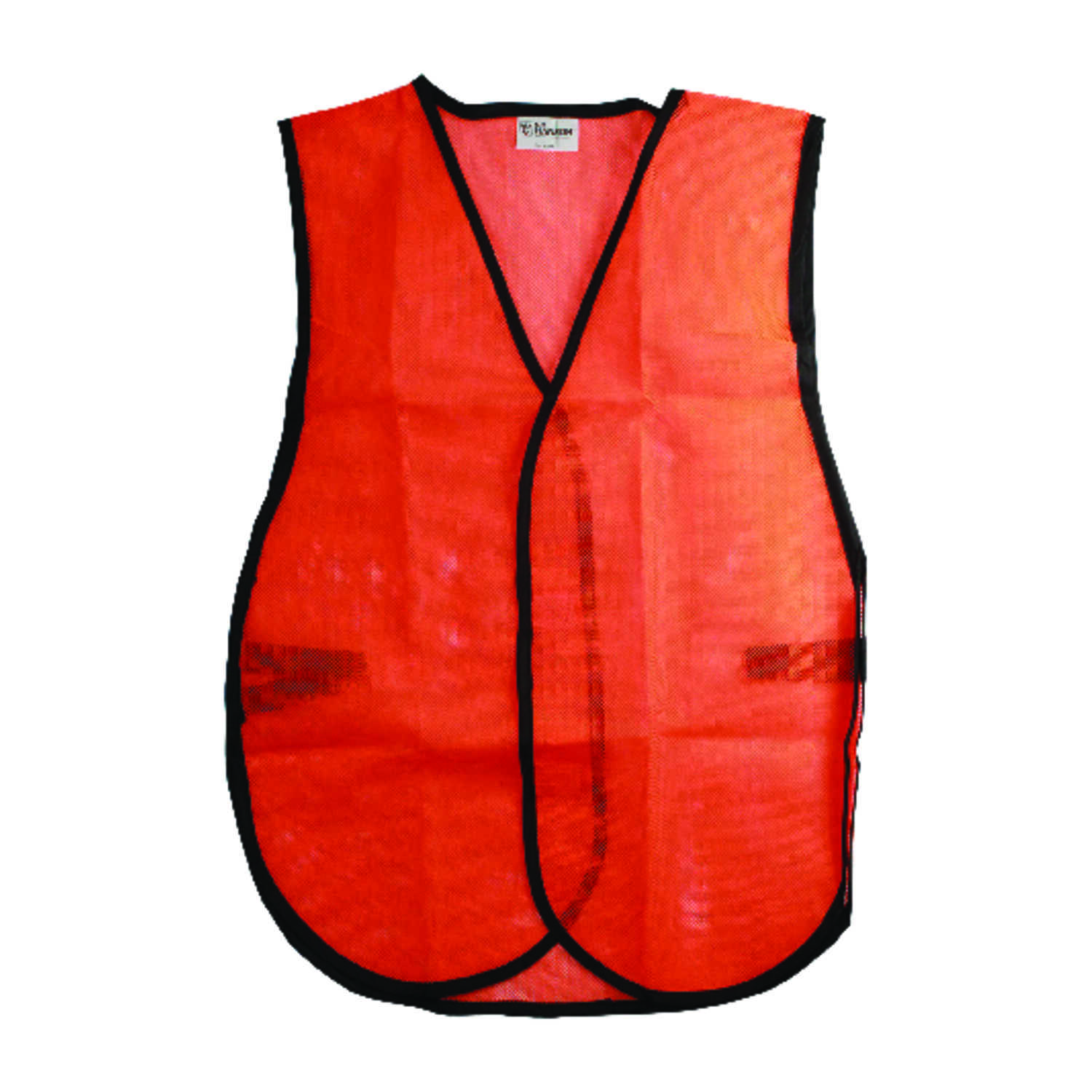 CH Hanson  Reflective Polyester Mesh  Safety Vest  Orange  One Size Fits All  1 pk