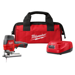 Milwaukee M12 12 volt 1.5 amps Cordless Jig Saw Kit Kit (Battery & Charger)
