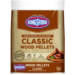 Kingsford  Classic  Cherry, Hickory, Oak  Wood Pellet Fuel  20 lb.