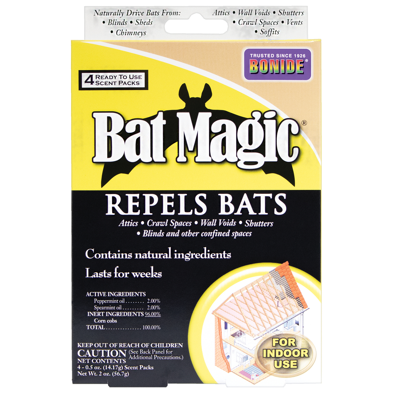 Bonide  Bat Magic  For Bats Animal Repellent
