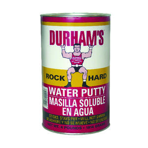 Durhams Rock Hard  Natural Cream  Water Putty  64 oz.