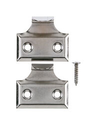 Ace  1.5 in. L Chrome  Chrome  Universal  Hook Sash Lift  2 pk