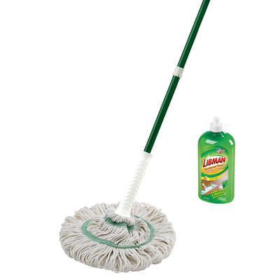Libman Tornado Twist 4 in. W Wet Mop