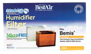 Best Air Humidifier Wick Filters 17 in. x 4-7/8 in. x 9-7/8 in. For All Bemis Consoles