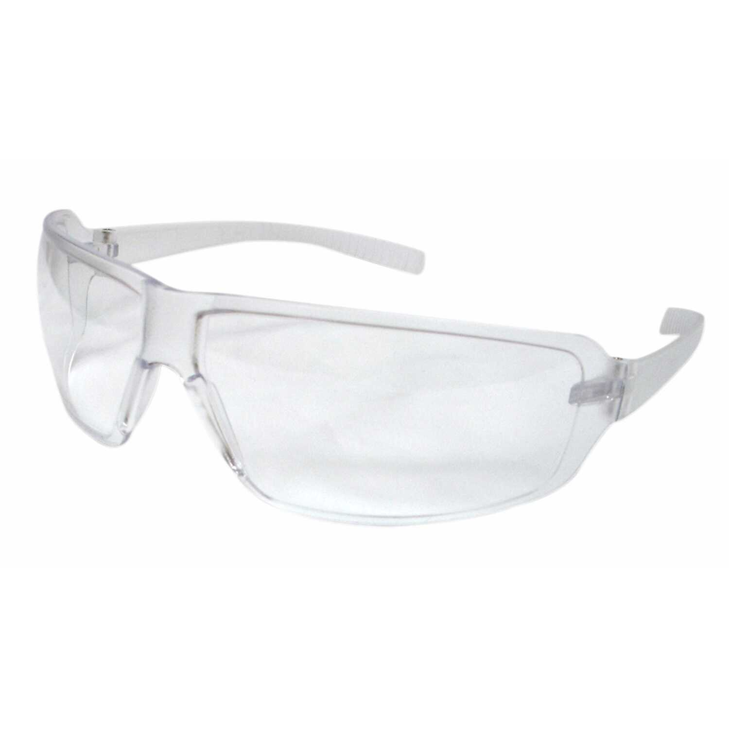 3M  Safety Glasses  Clear Lens Clear Frame 4 pc.
