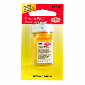 Testors  Yellow  Hobby Paint