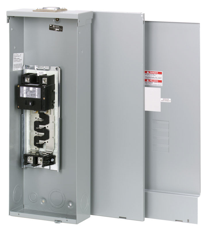 circuit breakers, fuses and panels ace hardwareeaton cutler hammer 200 amps 240 volt 4 space 8 circuits surface mount main breaker