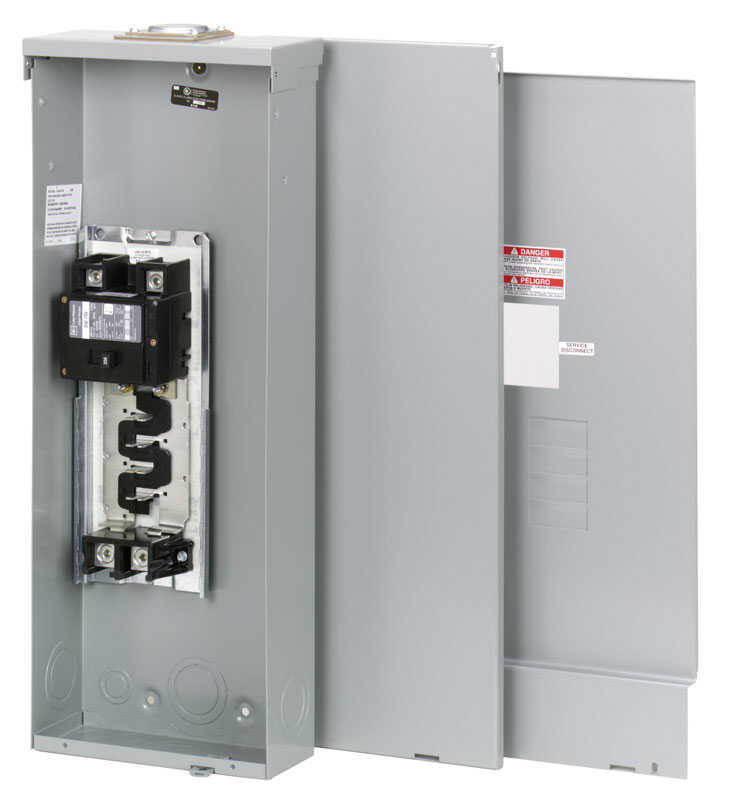 Eaton  Cutler-Hammer  200 amps 240 volt 4 space 8 circuits Surface Mount  Main Breaker Load Center