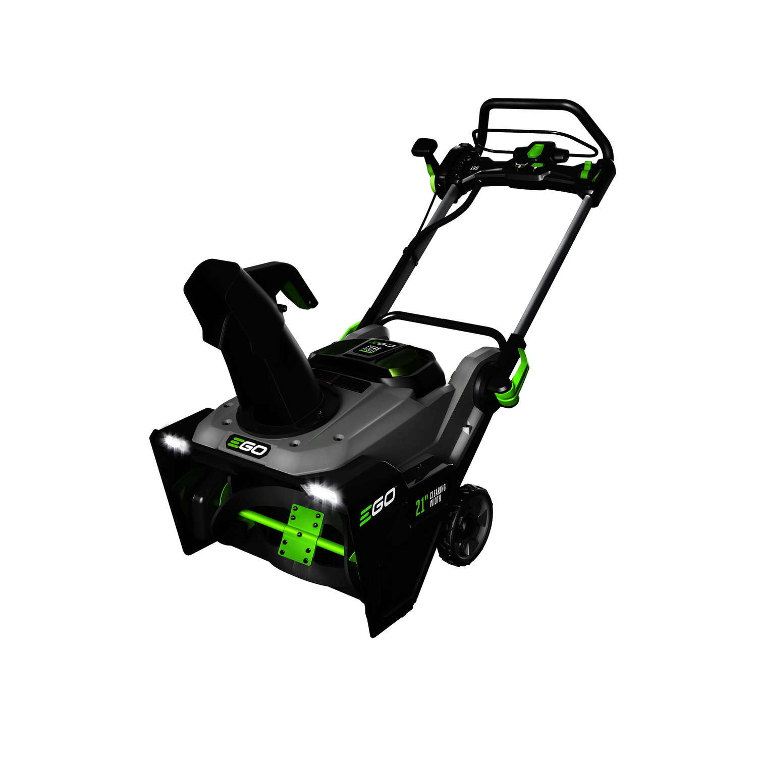 EGO  Power Plus  21 in. Single Stage Push-Button Start  56 volt Battery  Snow Blower