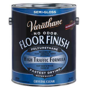 Varathane  Floor Finish  Crystal Clear  Floor Finish  1 gal.