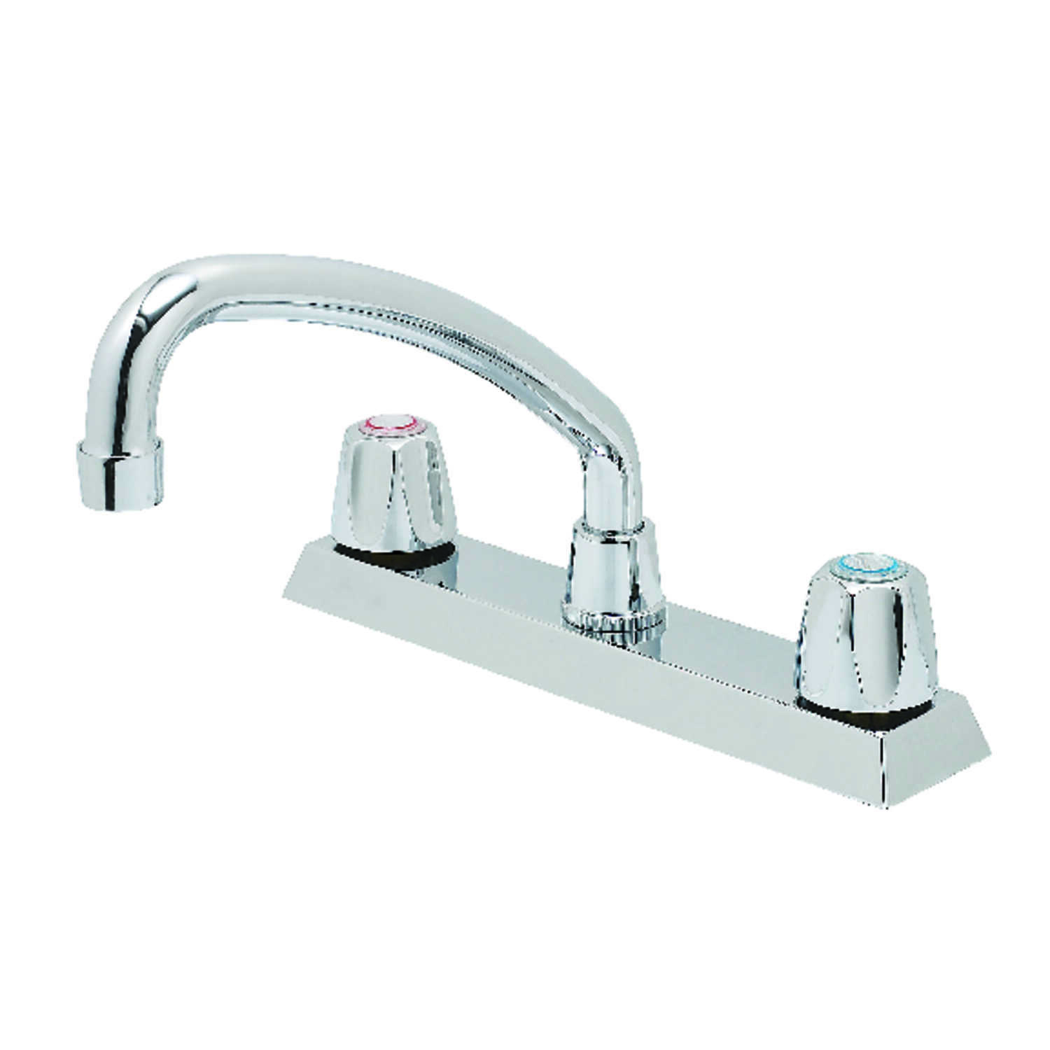 OakBrook  Washerless Cartridge  Two Handle  Chrome  Kitchen Faucet
